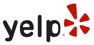 Yelp logo, for dentist in Los Gatos, Infantino Dental Los Gatos' yelp page.